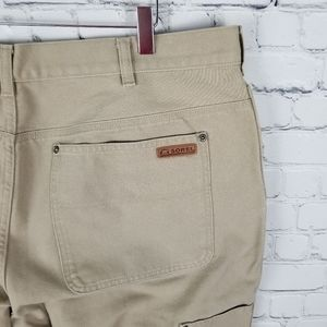SOREL | tan denim jeans